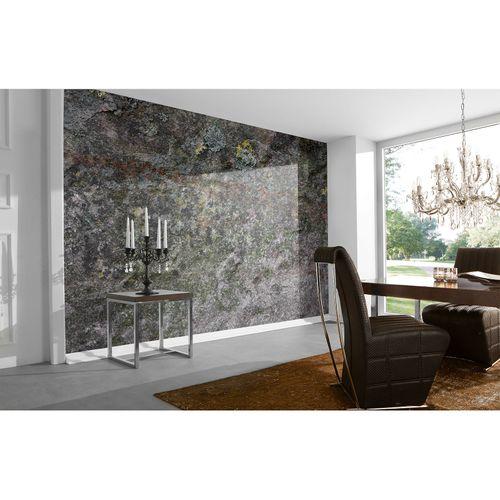 Photo Wallpaper Stone grey taupe white DD108725