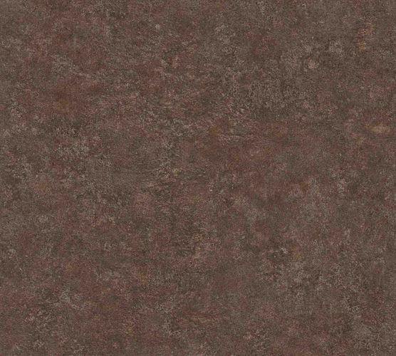 Wallpaper non-woven plaster optic brown beige 37744-2