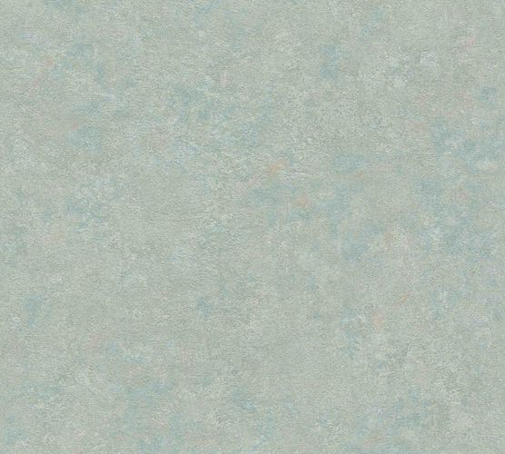 Wallpaper non-woven plaster optic green brown 37744-5
