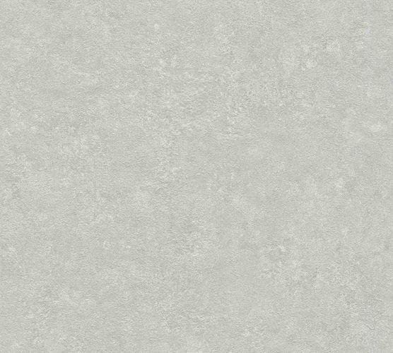 Wallpaper non-woven plaster optic grey 37744-6