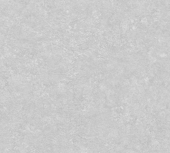 Wallpaper non-woven plaster optic light grey 37744-7