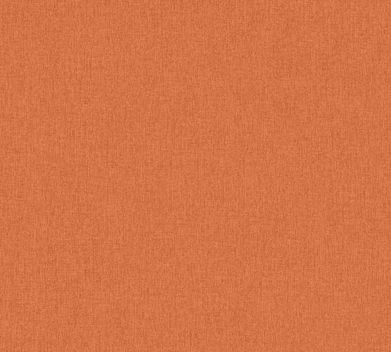 Non-woven wallpaper plain orange 37521-4