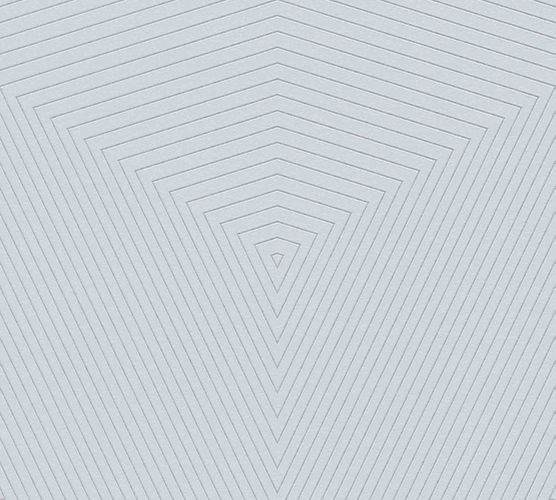 Non-woven wallpaper geometrical grey-silver 37522-3