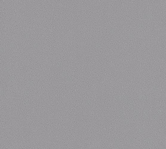 Non-woven wallpaper mottled plain dark grey 37527-6