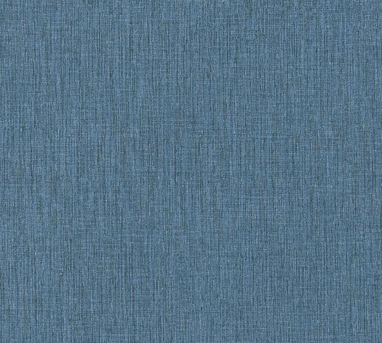 Vliestapete texturiert Uni blau schwarz 37952-1