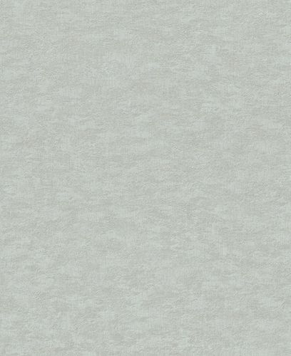 Vliestapete Rasch Uni-Design grau-blau Metallic 420630