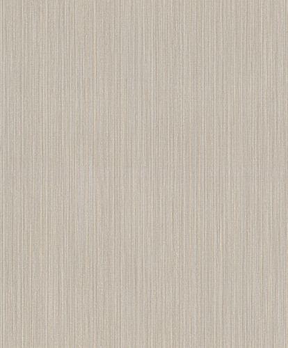 Vliestapete Rasch Feine Streifen beige grau 420814