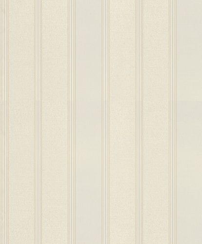 Vliestapete Rasch Blockstreifen weiß grau gold 421026