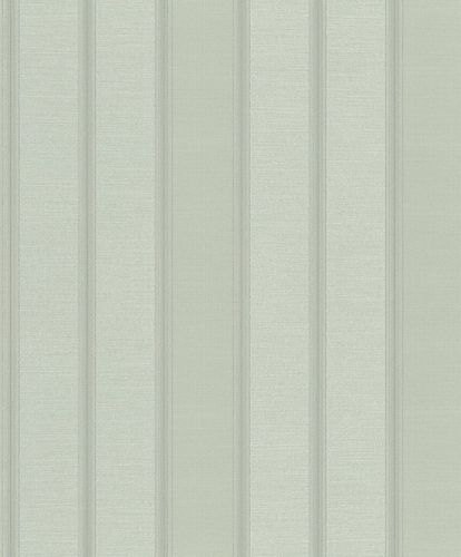 Vliestapete Rasch Blockstreifen grau silber Metallic 421040