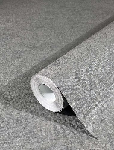 Non-Woven Wallpaper Plain Mottled grey 32405