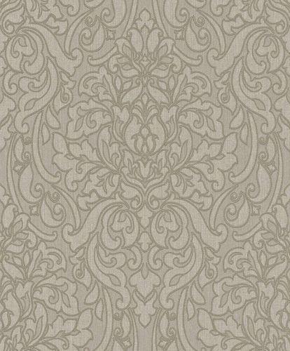 Textiltapete Rasch Textil Barock beigegrau 078106