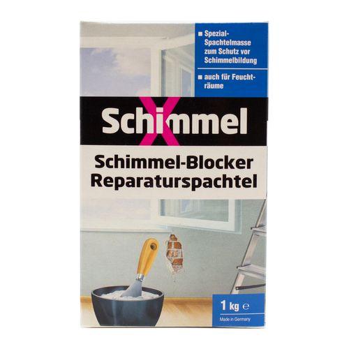 SchimmelX Schimmelblocker Reparatur Spachtel 1kg