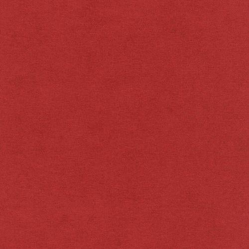Vliestapete Rasch Uni Meliert rot 408195