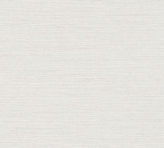 Non-Woven Wallpaper Mottled white grey Gloss 37857-1