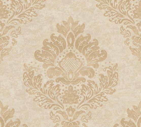 Non-Woven Wallpaper Barock beige gold Metallic 37901-3