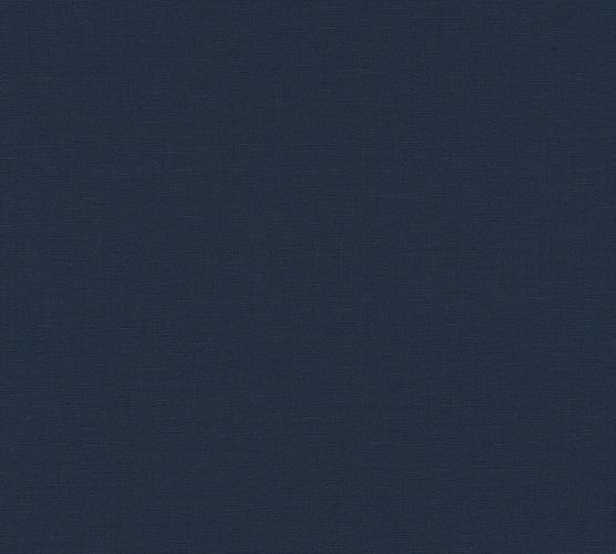 Non-Woven Wallpaper Textile Design dark blue 37953-4