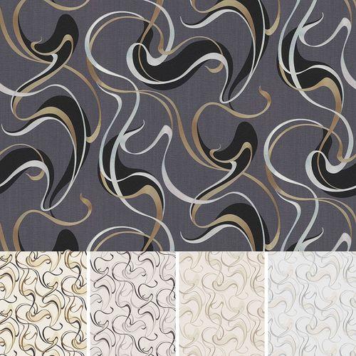 Erismann non-woven wallpaper spotlight loops gold cream