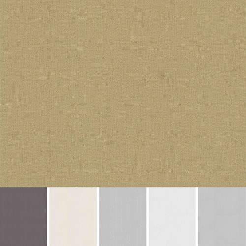 Non-woven wallpaper Erismann Spotlight plaster look silver gold