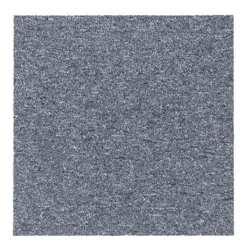 Carpet Tile Hard-Wearing Rug Diva grey 50x50 cm