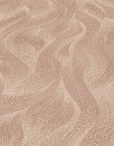 Vliestapete Elle Wellen-Muster rosa Glitzer 10151-05