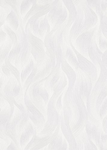 Vliestapete Elle Wellen-Muster hellgrau Glitzer 10151-31