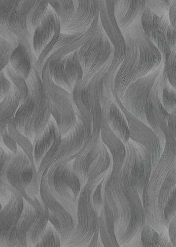 Non-Woven Wallpaper Elle Waves anthracite Gloss 10151-47