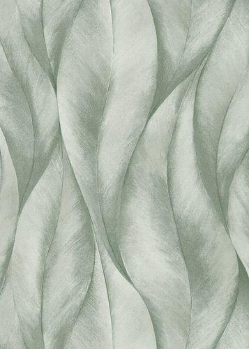 Wallpaper Guido Maria Kretschmer Leaves green 10148-07