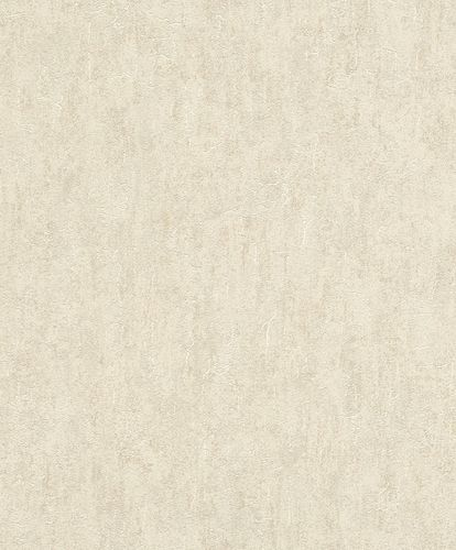 Rasch Wallpaper Plaster Plain beige gold 458039