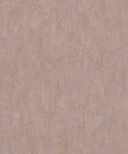 Rasch Vliestapete Putz Uni alt-rosa gold 458046