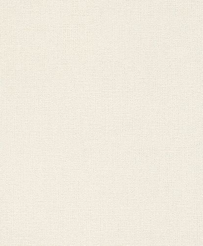 Rasch Wallpaper Plain Textile white 639636