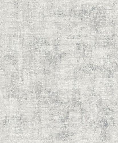 Rasch Wallpaper Structure Shabby Chic grey white 650426