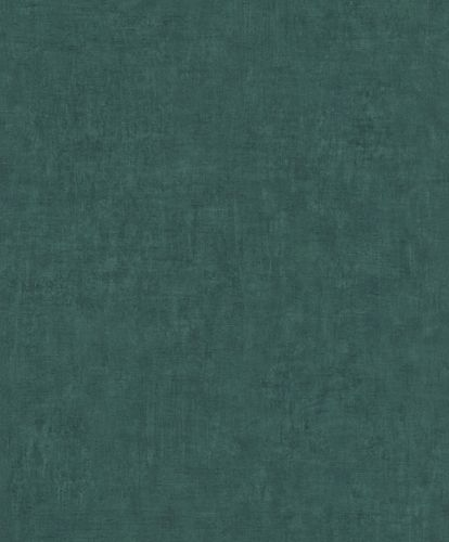 Non-Woven Wallpaper Rasch Plaster Plain green 429282