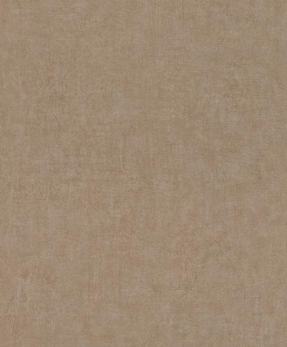 Non-Woven Wallpaper Rasch Plaster Plain brown 429299