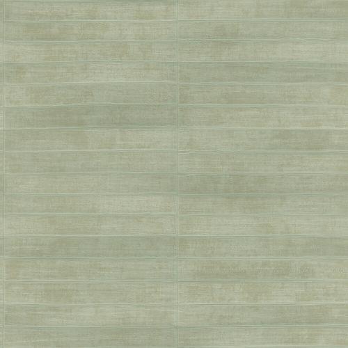Non-Woven Wallpaper Rasch Fish Leather green gloss 418484