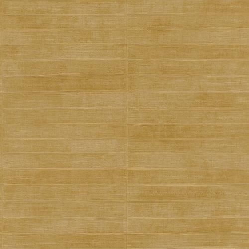 Vliestapete Rasch Leder Riemchen gelb-gold Glanz 418491