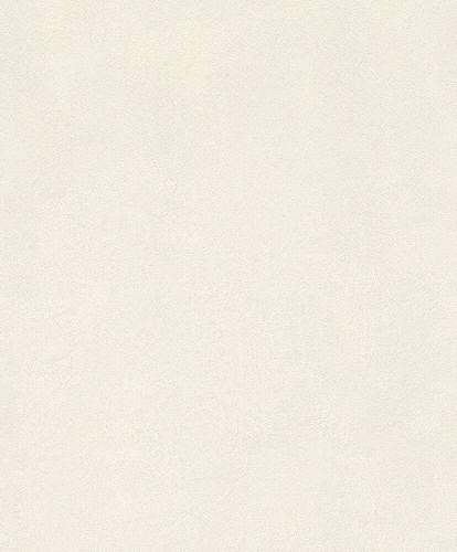 Non-Woven Wallpaper Rasch Fur Plain white 418613