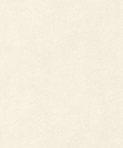 Non-Woven Wallpaper Rasch Fur Plain white grey 418620