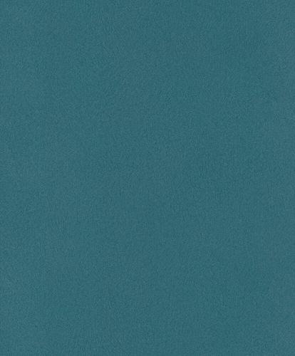 Non-Woven Wallpaper Rasch Fur Plain blue 418675