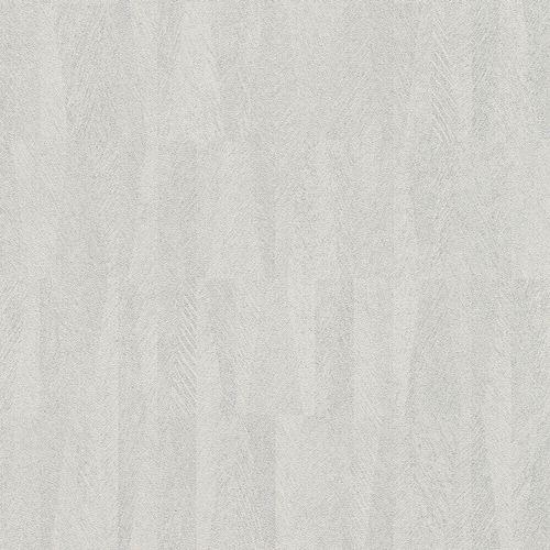 Vliestapete Rasch Bananen-Blätter Bast grau silber 418910
