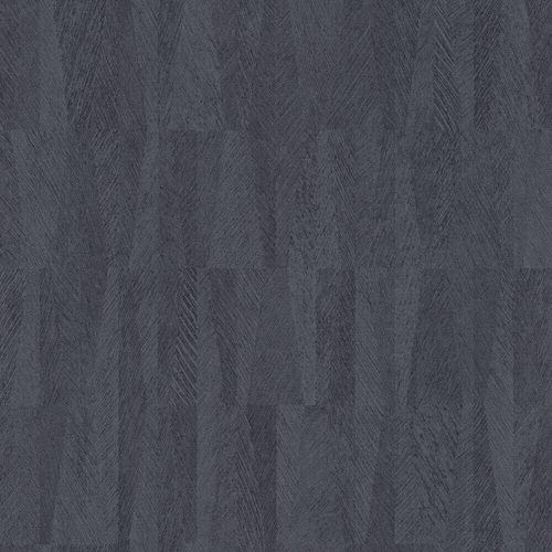 Non-Woven Wallpaper Rasch Banana Leaves dark blue 418927