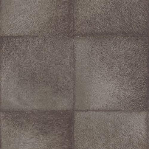 Vliestapete Rasch Fell Quadrate braun 419139