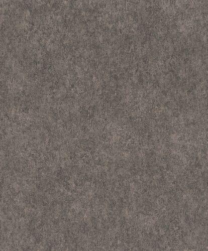 Non-Woven Wallpaper Rasch Plain Plaster black 617160