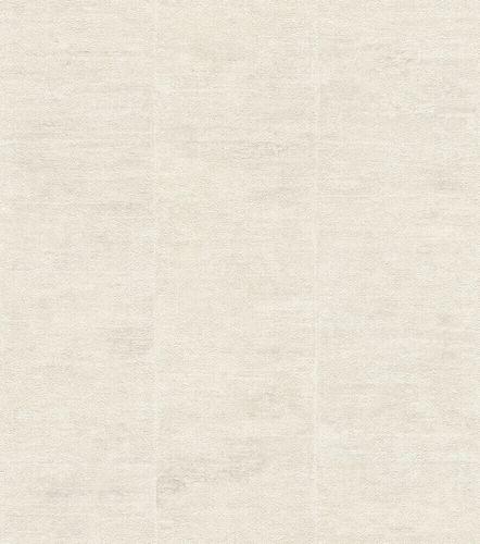 Non-Woven Wallpaper Rasch Stripes beige Metallic 617610