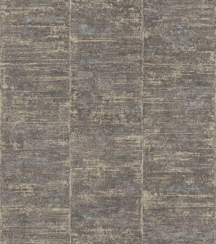Non-Woven Wallpaper Rasch Blockstripes black 617641