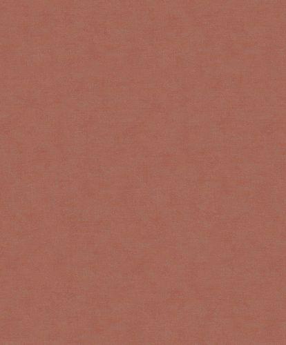 Non-Woven Wallpaper Linen brown-red Metallic 32430