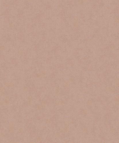 Non-Woven Wallpaper Linen rust-brown Metallic 32432