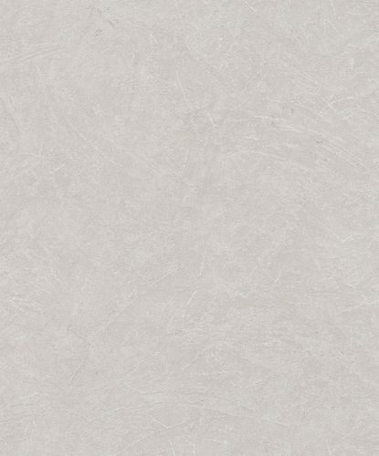 Non-Woven Wallpaper Plaster Look Metallic greige 32814