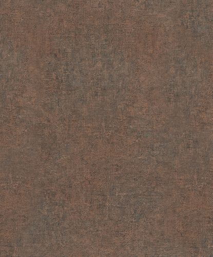 Non-Woven Wallpaper Structure Plain copper 32829