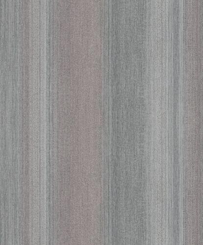 Vliestapete Streifen Struktur Glanz violett grau 32836
