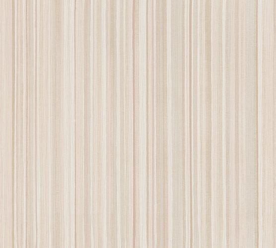 Vliestapete Streifen beige braun creme 37817-3
